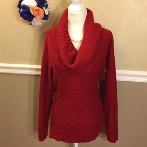 a.n.a A New Approach cowlneck tunic sweater